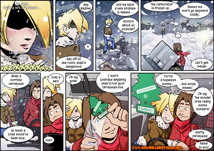 Pooristic | A Demolitionsquad Christmas Tale - Page 7